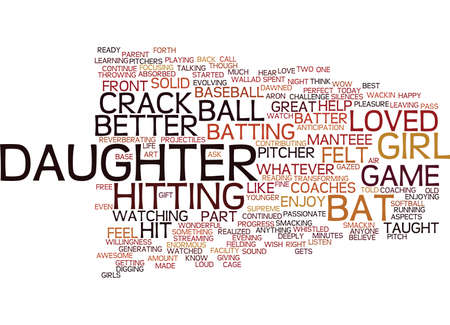 LISTEN CAN YOU HEAR THE CRACK OF THE BAT Text Background Word Cloud Concept