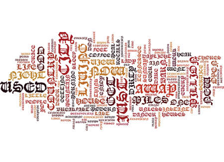 LIFE JUST AIN T WHAT IT USED TO BE Text Background Word Cloud Concept Illustration