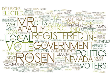 LOCAL GOVERNMENT APATHY Text Background Word Cloud Concept
