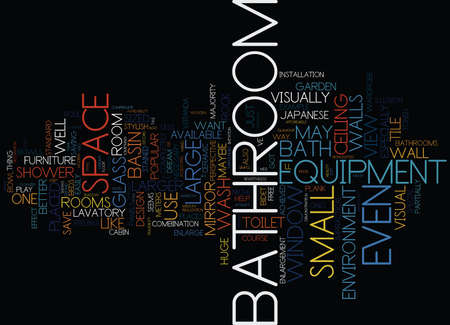 LONDON BATHROOM FITTERS BATHROOM VISUAL ENLARGEMENT Text Background Word Cloud Concept