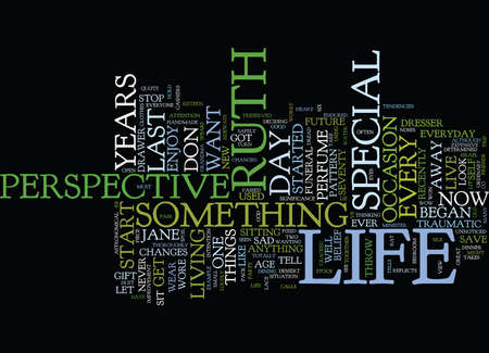 LIFE IS A GIFT OPEN AND ENJOY IT Text Background Word Cloud Concept