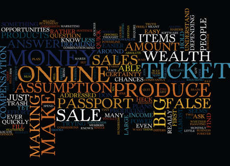 LITTLE KNOWN PASSPORT TO WEALTH Text Background Word Cloud Concept