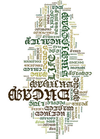 LIVE THE DREAM TODAY Text Background Word Cloud Concept
