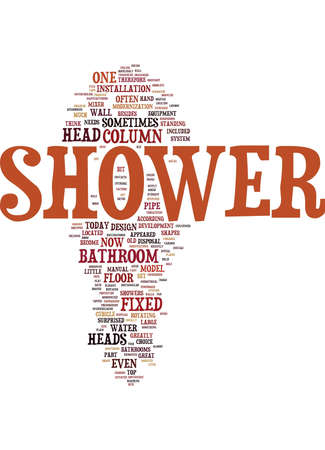 LONDON BUILDERS SHEER APPEAL OF YOUR SHOWER PART ONE Text Background Word Cloud Concept Illustration