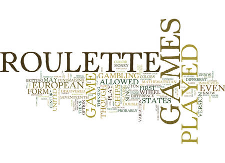 constraining: LIVE ROULETTE GAMES Text Background Word Cloud Concept