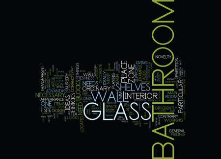 LONDON BUILDERS BATHROOM APARTMENT GLASS IDEAS PART TWO Text Background Word Cloud Concept