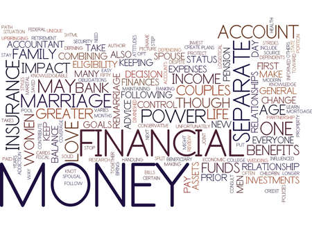 marital: LOVE MARRIAGE AND MONEY Text Background Word Cloud Concept