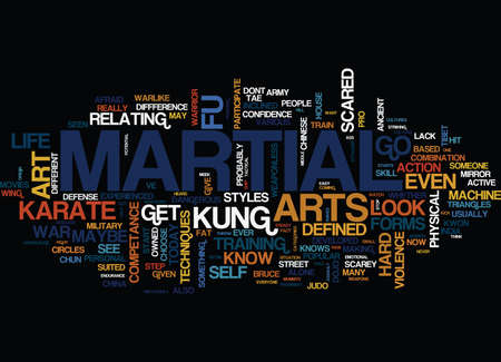 MARTIAL EXTREME SPORTS ARE YOU INFORMED Text Background Word Cloud Concept