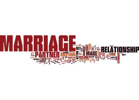結婚クイズ テキスト背景単語雲概念