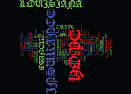 LOUISIANA HOME OWNER INSURANCE QUOTE Text Background Word Cloud Concept