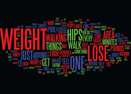 LOSE WEIGHT IN YOUR HIPS ONLY NOT Text Background Word Cloud Concept