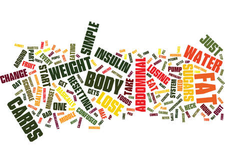 LOSE ABDOMINAL FAT Text Background Word Cloud Concept