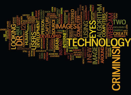 essentially: LOOK INTO MY EYES NEW WEBCAM TECHNOLOGY Text Background Word Cloud Concept