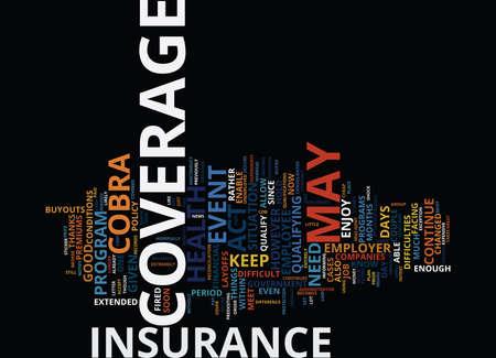 あなたが失業保険本文背景単語雲・ コンセプトを維持する方法