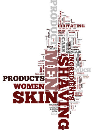 heather: MEN S SKIN CARE Text Background Word Cloud Concept Illustration