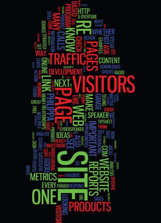 METRICS MATTER Text Background Word Cloud Concept Ilustrace