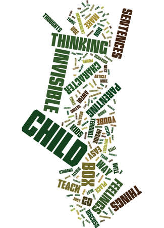 TEACH KIDS TO THINK DISCUSS AND BUILD CHARACTER WITH EASY SENTENCES Text Background Word Cloud Concept