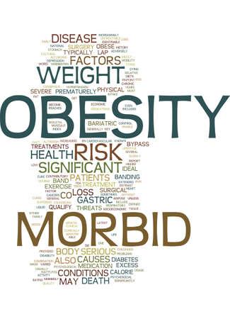 病的肥満本文背景単語雲概念
