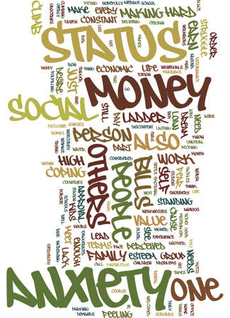 MONEY AND MIND Text Background Word Cloud Concept Illustration