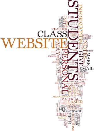 教師は、あなたの人生を簡単に個人的なウェブサイトのテキスト背景単語クラウドのコンセプトにします。