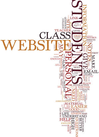 TEACHERS MAKE YOUR LIFE EASIER WITH A PERSONAL WEBSITE Text Background Word Cloud Concept