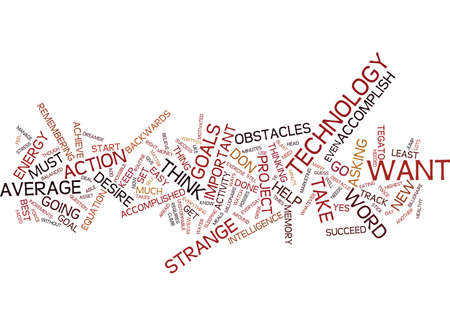 TEGATO THE NEW TECHNOLOGY FOR YOUR SUCCESS Text Background Word Cloud Concept