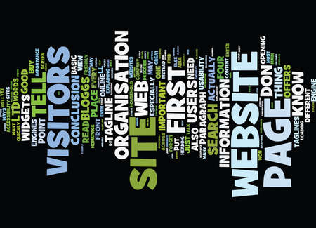 TELL ME WHAT YOUR WEBSITE DOES Text Background Word Cloud Concept