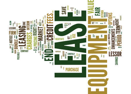 TEN WAYS TO SAVE A BUNDLE ON YOUR NEXT LEASE Text Background Word Cloud Concept