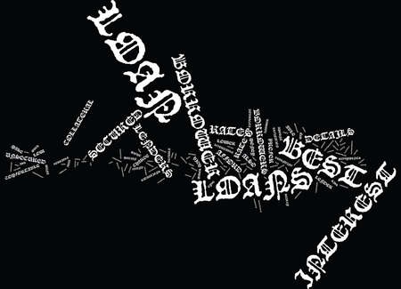 THE BEST LOANS WHAT ARE THEY Text Background Word Cloud Concept