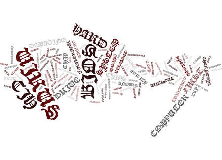 THE CIH VIRUS Text Background Word Cloud Concept