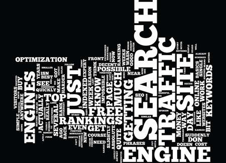 THE BEST TRAFFIC MONEY CAN BUY Text Background Word Cloud Concept
