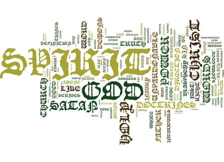 THE BLACK AND WHITE OF THE UNPARDONABLE SIN Text Background Word Cloud Concept