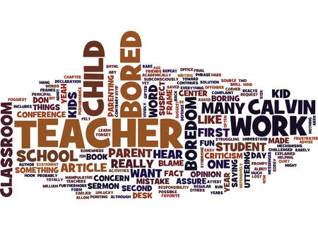 THE B WORD Text Background Word Cloud Concept