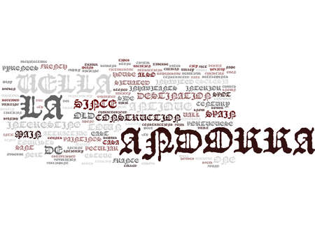 THE BEAUTIFUL ANDORRA LA VELLA Text Background Word Cloud Concept