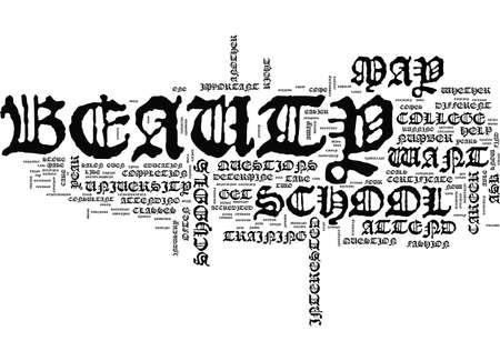 SCHÖNHEIT SOLLTE SIE UNTERZEICHNEN, KOSMETISCHE CHIRURGIE Text-Hintergrund-Wort-Wolken-Konzept