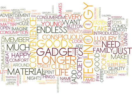 excess: THE CULTURE OF EXCESS Text Background word cloud concept Illustration
