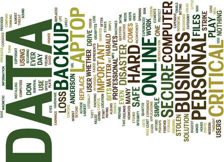 THE DAY MY LAPTOP WAS STOLEN ALMOST KILLED MY BUSINESS Text Background Word Cloud Concept