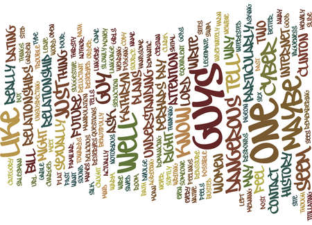 THE CYBER LOTHARIO Text Background Word Cloud Concept