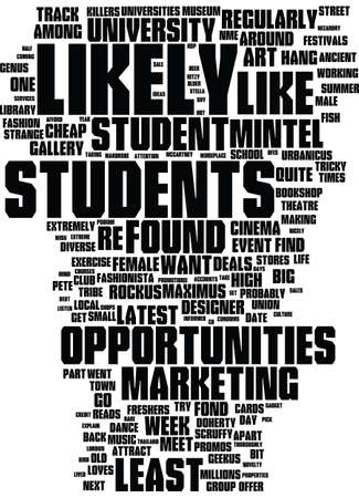 MEET THE STUDENTS Text Background Word Cloud Concept