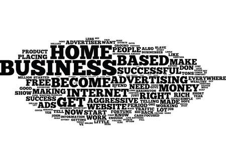 THE AGGRESSIVE ADVERTISER Text Background Word Cloud Concept Ilustração