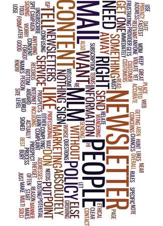 MLM E MAIL NIEUWSBRIEVEN EN WAT U NODIG HEEFT VOOR INHOUD Tekst Achtergrond Word Cloud Concept