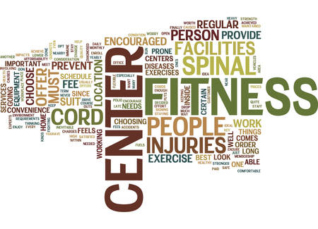 THE BEST WAY TO PREVENT SPINAL CORD INJURIES Text Background Word Cloud Concept