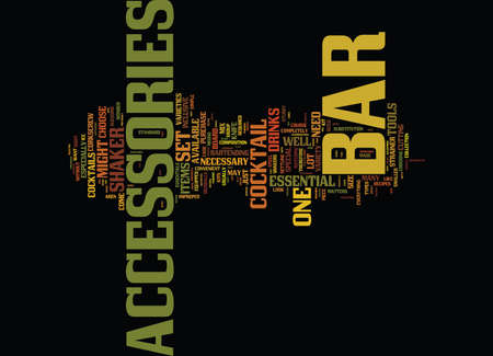 THE BEST BAR TOOLS FOR NOVICE TO PRO BARTENDERS Text Background Word Cloud Concept