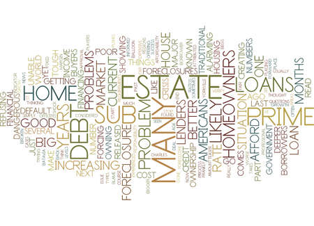 THE BIG HOME OWNERSHIP PROBLEM WHAT S NEXT Text Background Word Cloud Concept