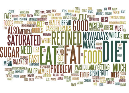 THE BEST DIET FOR YOUR BODY TYPE IN EASY STEPS Text Background Word Cloud Concept