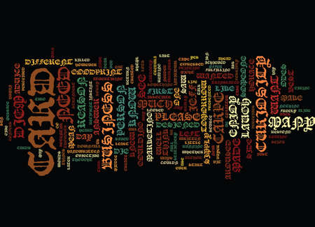 THE BEST BUSINESS CARD I EVER SAW Text Background Word Cloud Concept