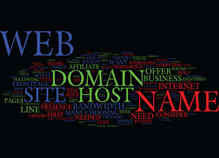 YOUR AFFILIATE WEB SITE IS BUILT NOW WHAT Text Background Word Cloud Concept