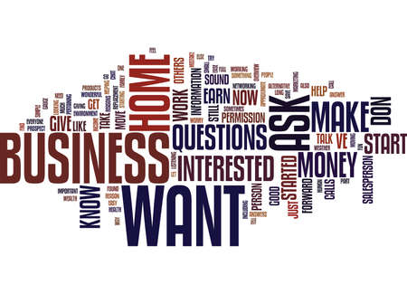 YOU VE STARTED A HOME BUSINESS NOW WHAT Text Background Word Cloud Concept