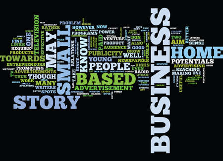 YOUNG ENTREPRENEUR Text Background Word Cloud Concept Illustration
