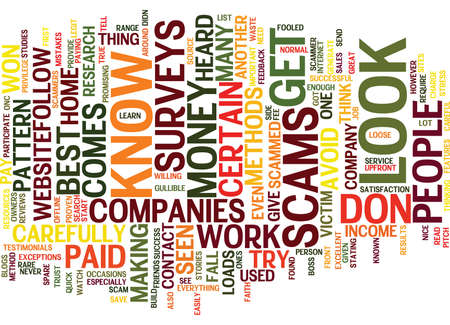 what if: YOU WON T GET SCAMMED IF YOU KNOW WHAT TO LOOK OUT FOR Text Background Word Cloud Concept